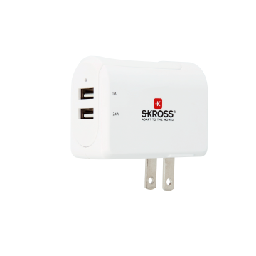 US USB Charger - 2-Port