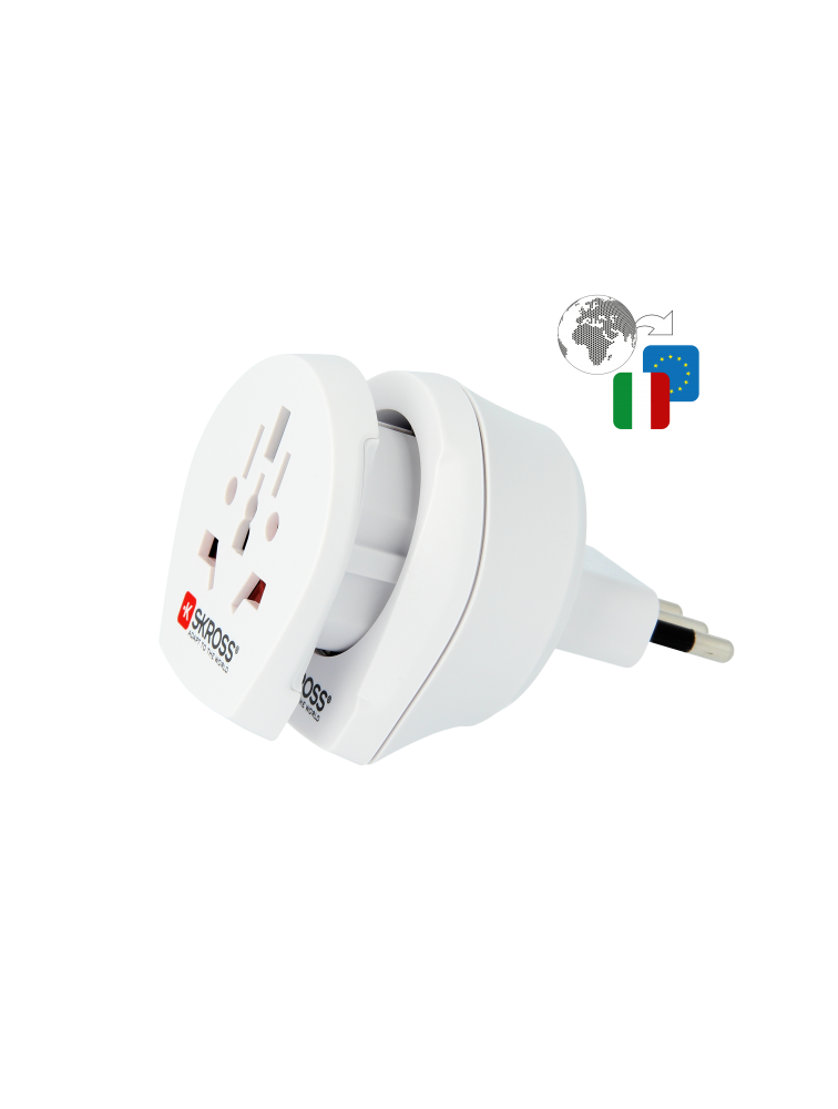 Länderreiseadapter Combo World to Italy
