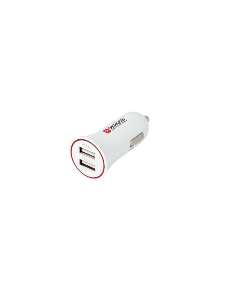 Dual USB Car Charger, duales USB Ladegerät für Auto, Camper, LKW und Boot