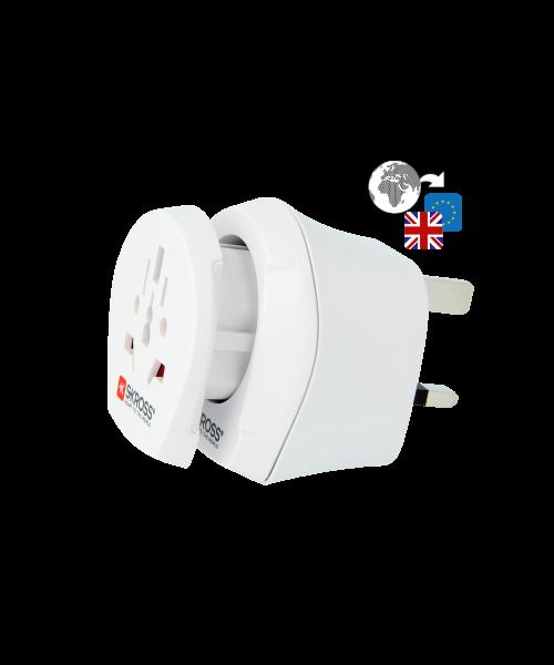 Länderreiseadapter Combo World to UK