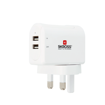 UK USB Charger - 2-Port