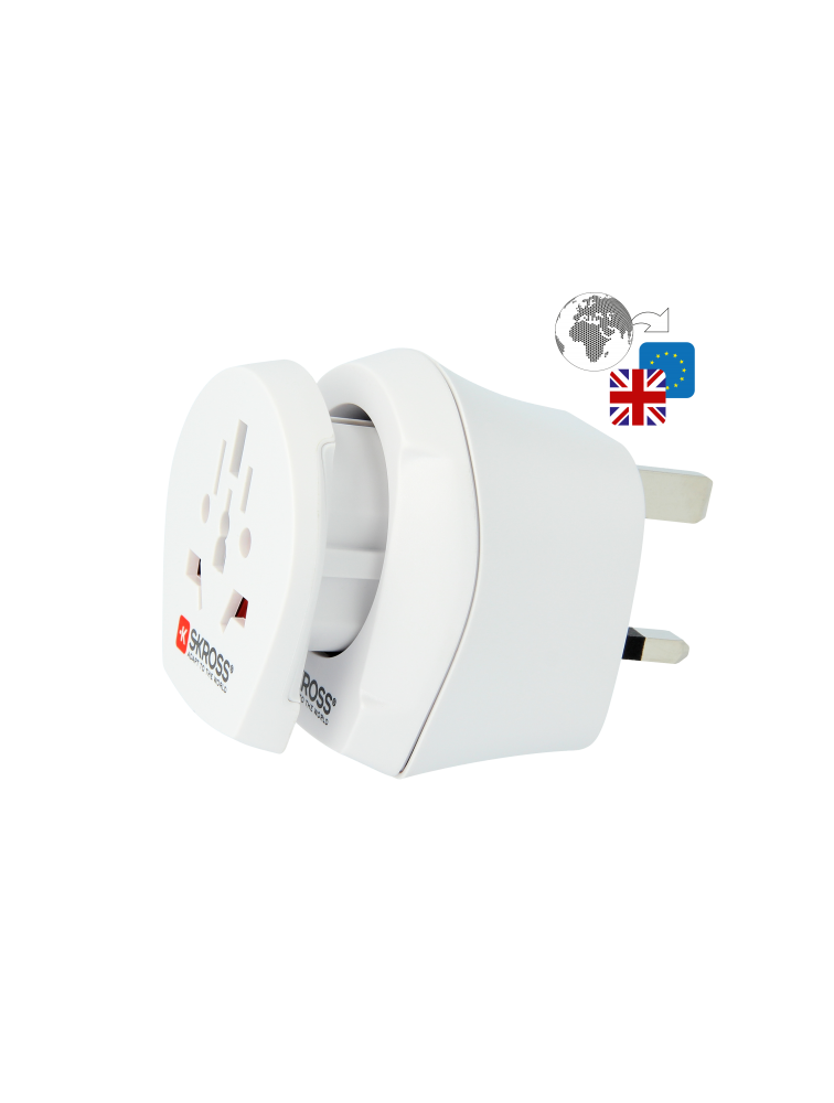 Länderreiseadapter Combo World to UK