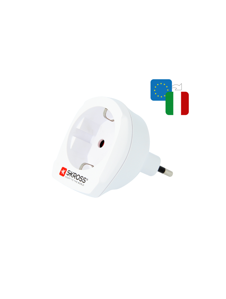 Länderreiseadapter Europe to Italy