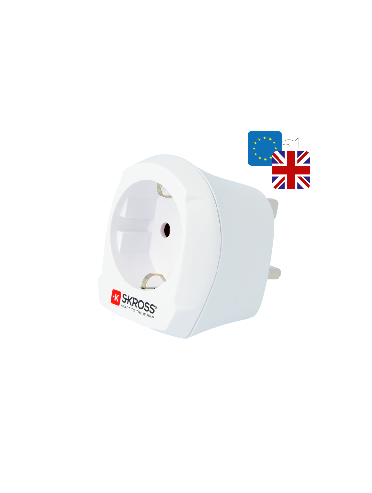 Länderreiseadapter Europe to UK