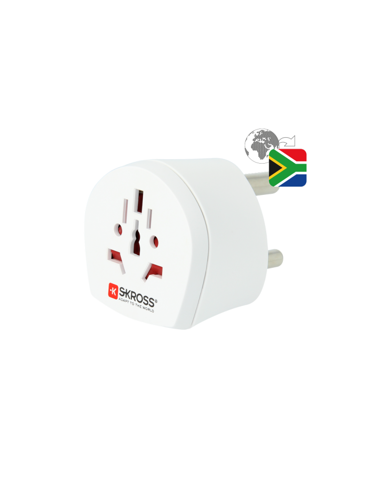 Länderreiseadapter World to South Africa