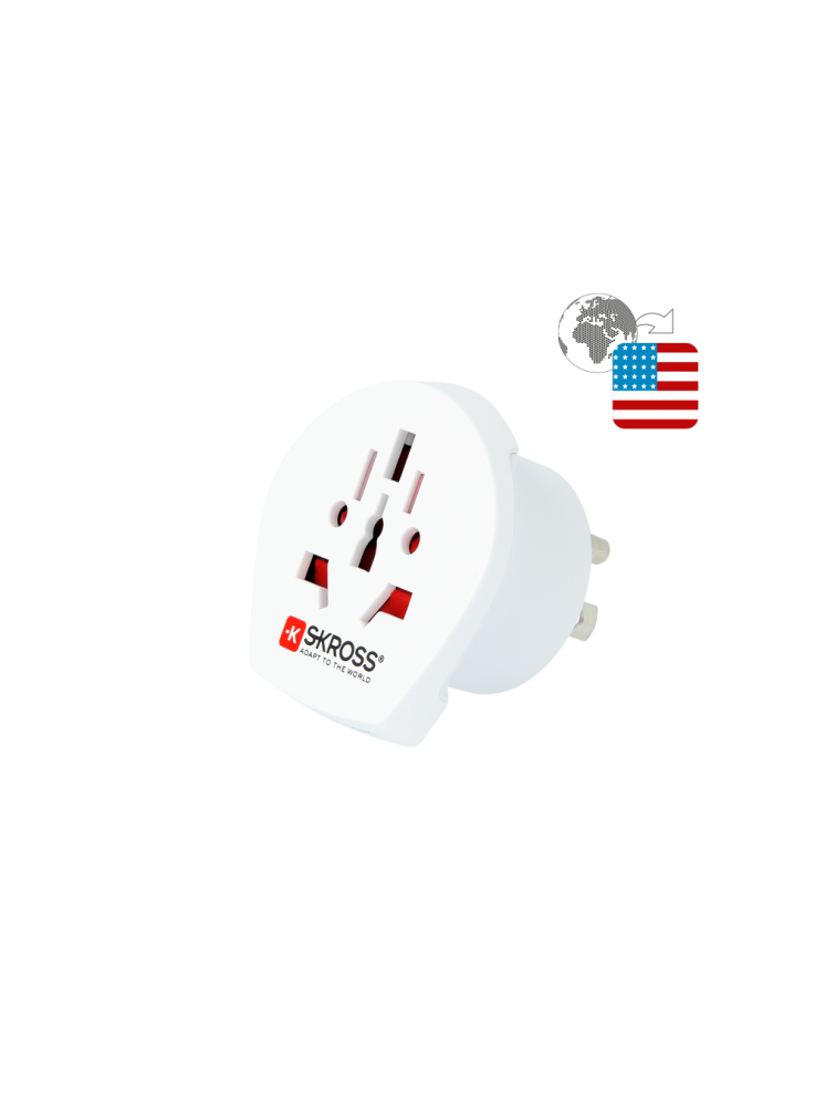 Länderreiseadapter World to USA