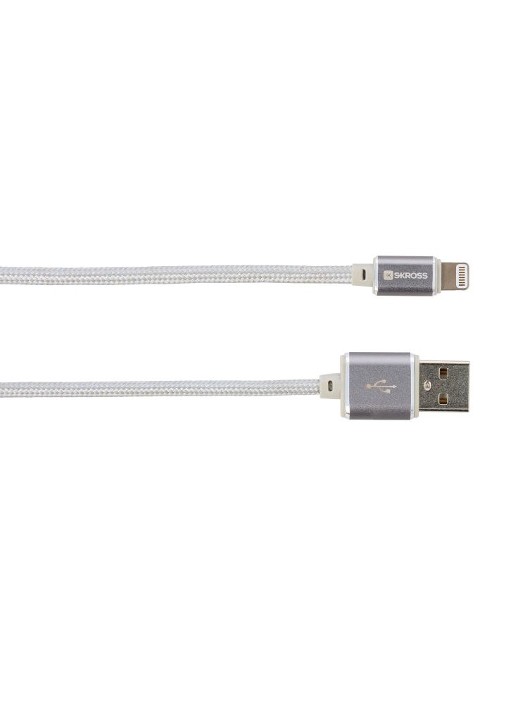 Charge'n Sync Lightning Connector - Steel Line, Kabel