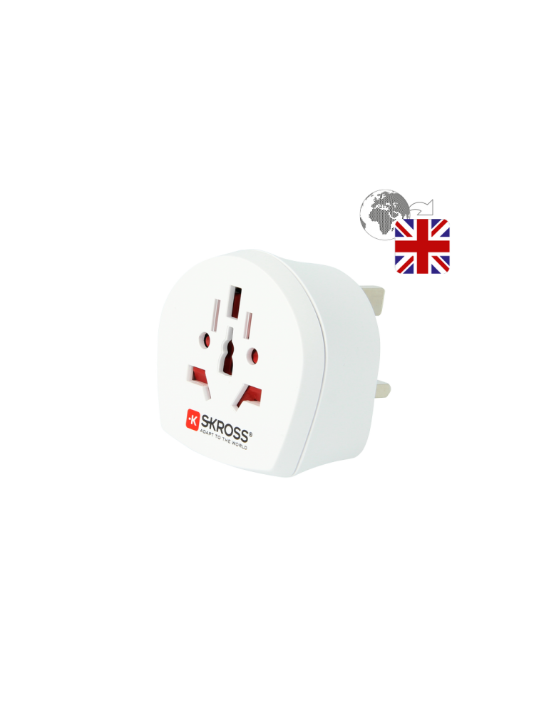 Länderreiseadapter World to UK