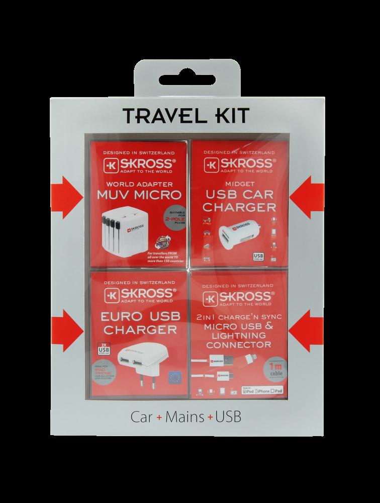 Travel Kit + gratis Power Case