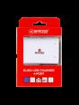 Euro USB Charger - 4 Port, USB-Ladegerät, vierfach, Verpackung Vorderseite