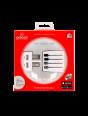 Weltreiseadapter MUV Micro USB, Verpackung Vorderseite