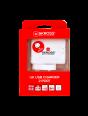 Verpackung Vorderseite UK USB Charger - 2-Port, duales USB-Ladegerät