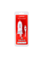 Verpackung Vorderseite Auto-Ladegerät für den Zigarettenanzünder mit Lightning Connector Kabel: USB Car Charger & Lightning Connector
